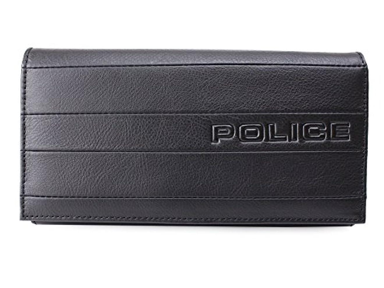 レディカカドゥ追加(ポリス) POLICE 長財布 BICOLORE ビコローレ 0407 PA-59902 (ブラック(01))
