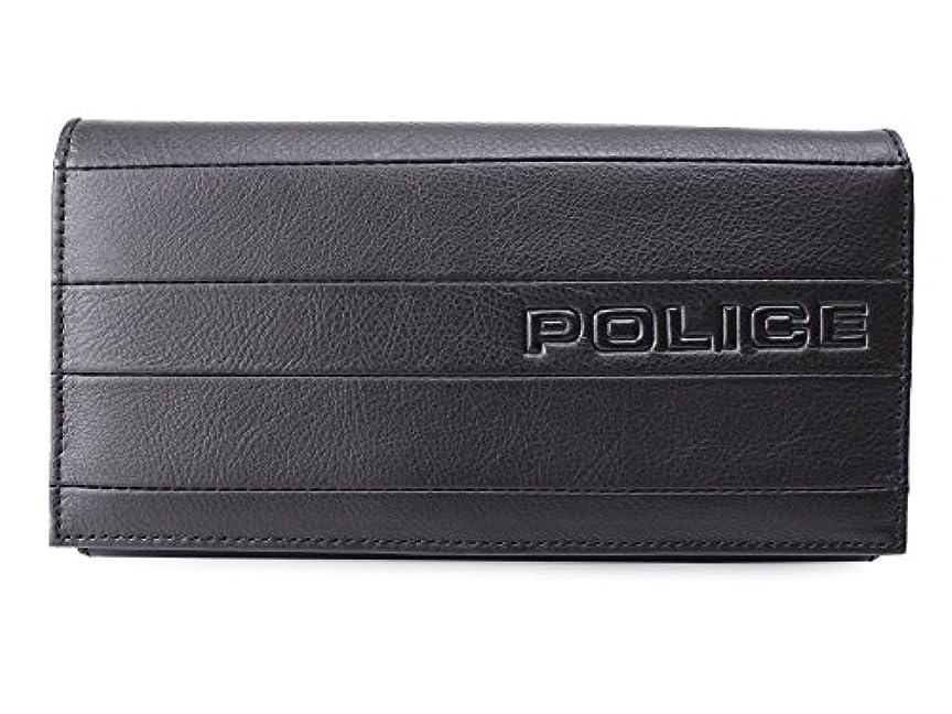 仮称腹部キャンディー(ポリス) POLICE 長財布 BICOLORE ビコローレ 0407 PA-59902 (ブラック(01))