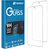 T Tersely [2 Pack] Screen Protector for iPhone 12 Mini, 9H Hardness Case Friendly Tempered Glass Screen Protectors Anti-Scrat