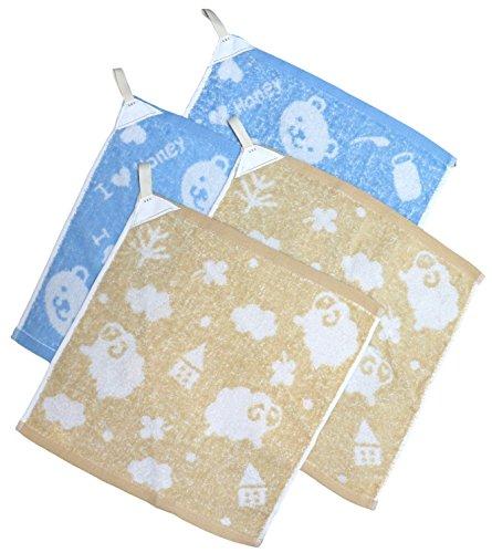 [해외]trust map 루프가있는 수건 4 장 세트 이름 태그 부착 소프트 털이 유형/trust map 4 sets of towels with loops Soft fluffy type tag with name tag