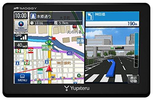 ユピテル 5インチ ポータブルカーナビ オービス情報/マップル旅行ガイドブック130冊分収録 2018年最新地図データ収録 YPL524