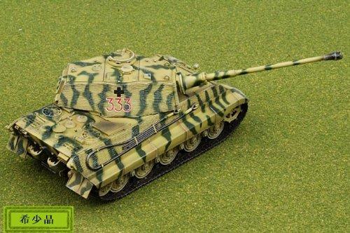 1:72 ドラゴン モデル 1:72 Armor Value シリーズ 62008 Henschel/Porsche Sd.Kfz.182 King Tiger ディスプレイ モデル German A