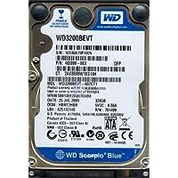 wd3200bevt-60zct1Western Digital 320GB 5400rpm SATA 3.0Gbps 2.5インチScorpioハードドライブ