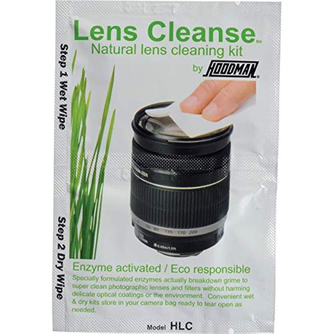 誠実スカイパフHoodman Lens Cleanse Natural Lens Cleaning Kit (12 Pack) [並行輸入品]