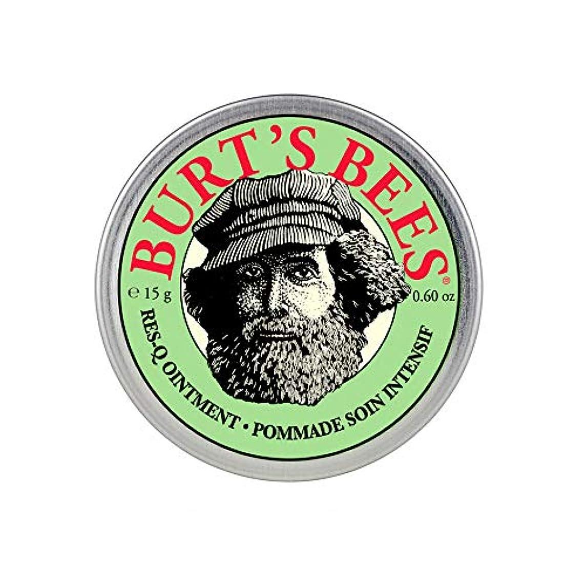 孤児謝罪受取人バーツビーズ(Burt's Bees) レスキュー オイントメント 15g [100%ナチュラル、軟膏] [海外直送][並行輸入品]