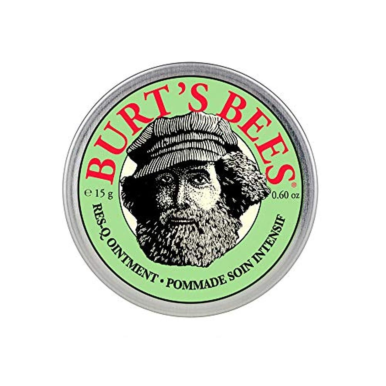 麻酔薬暴徒派手バーツビーズ(Burt's Bees) レスキュー オイントメント 15g [100%ナチュラル、軟膏] [海外直送][並行輸入品]