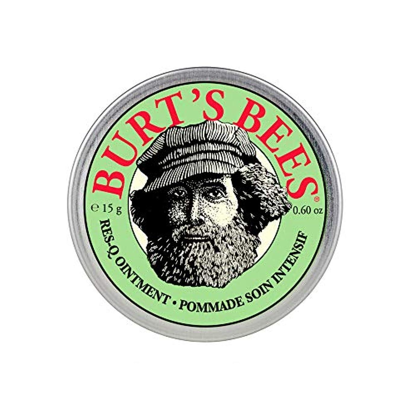 ソビエトご予約ダムバーツビーズ(Burt's Bees) レスキュー オイントメント 15g [100%ナチュラル、軟膏] [海外直送][並行輸入品]
