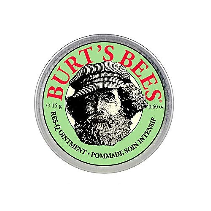 ヤギシビック宿命バーツビーズ(Burt's Bees) レスキュー オイントメント 15g [100%ナチュラル、軟膏] [海外直送][並行輸入品]