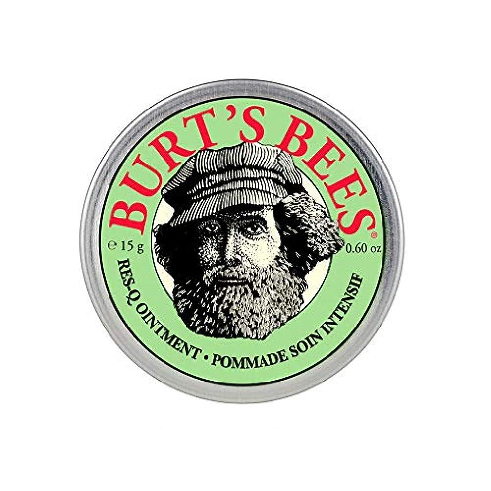 罹患率確立バケットバーツビーズ(Burt's Bees) レスキュー オイントメント 15g [100%ナチュラル、軟膏] [海外直送][並行輸入品]