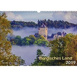 Bergisches Land 2019 Bildkalender A3 quer