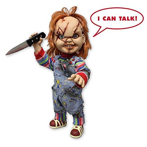 """Child's Play Chucky doll 15"""" Talking Mega Scale Mezco"""