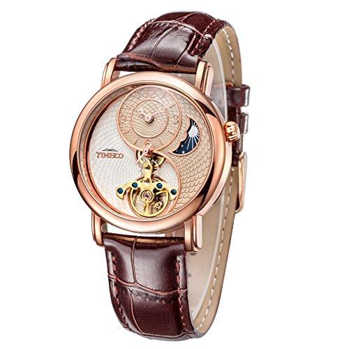 62297064e9 Time100 太陽と月と星 天体 太極形 スケルトン 中空フライホイール 機械式 腕時計 W60012M.02A : Amazon・楽天・ヤフー等の通販価格比較  [最安値.com]