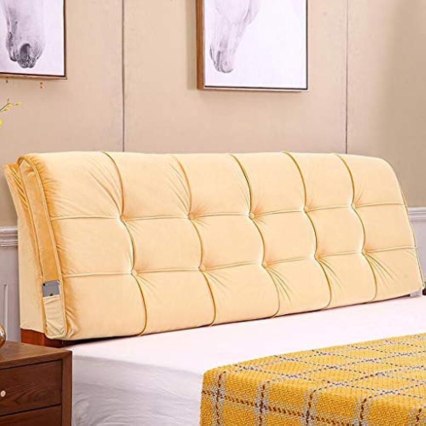 最大限アグネスグレイ宣言ウエストトライアングルベッド背もたれパッドヘッドボードソフトケース枕ベッドクッションソファ大型背もたれ枕洗える Zsetop (Color : B, Size : 100*58*10cm)