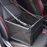 Pet Car Booster Seat Dog Foldable Safe Basket Protector Travel Carrier Puppy AU