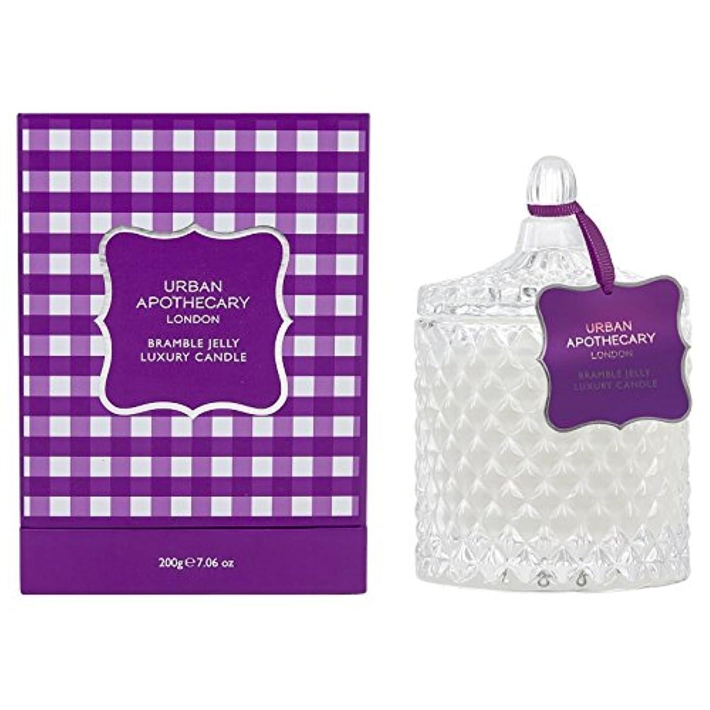 マージン何か話すUrban Apothecary Bramble Jelly Scented Candle (Pack of 2) - 都市薬屋キイチゴゼリー香りのキャンドル (Urban Apothecary) (x2) [並行輸入品]