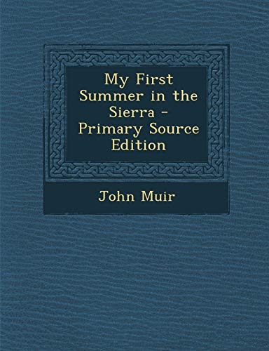 Download My First Summer in the Sierra 1287912478