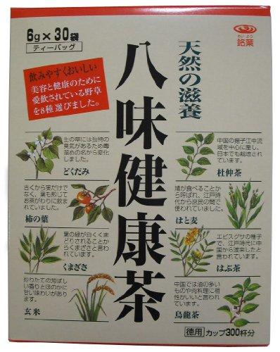 銘葉 八味健康茶 6g×30P