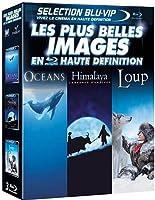 BLU-RAY COFFRET - OCEANS, HIMALAYA, LOUP (3 BLU-RAY)