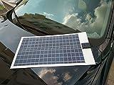 SAYA 太陽光パネル12V 30W 柔軟性フレキシブル ソーラーパネル