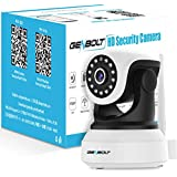 Wireless WiFi IP Security Camera - GENBOLT Indoor Dog Camera Night Vision Pan Tilt CCTV Spy Camera 1080P for Home Surveillance GB102S (2020 New Design), Two Way Audio Motion Detection Remote Security Webcam,Baby Monitor Including 30 Feet Night Vision, Free Mount Brackets, 64GB Storage(Max Support), 3 dBi Antenna, 355 Degree View Angle, 2 Megapixel Lens, Heavy-Duty Housing, 1000+ Instagram Likes, 24-Hour Customer Support, 30-Day Money Back Guaranteed, 1-Year Warranty