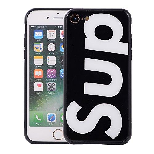 【iPhone7/8用、ブラック】アイフォーンケース iph...