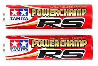 タミヤ バッテリー & 充電器シリーズ No.118 パワーチャンプRS 12本 55118