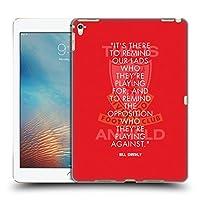 オフィシャル Liverpool Football Club リマインダー Bill Shankly Quotes iPad Pro 9.7 (2016) 専用ハードバックケース