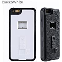 RONNEY'S Multifunctional With Cigarette Lighter & Bottle/Beer Opener Case Cover for IPhone 7/8 WHITE