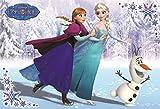 96ピース 子供向けパズル アナと雪の女王 たのしいスケート! こどもジグソーパズル ラージピース(26x38cm)