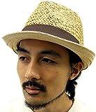 (マルカワジーンズパワージーンズバリュー) Marukawa JEANS POWER JEANS VALUE ハット メンズ 中折れ つば広 帽子 天然 麦わら帽子 ペーパーハット ストローハット 3color Free キナリ