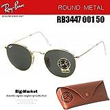 レイバン ラウンド (レイバン) Ray-Ban レイバン サングラス ラウンドメタル RB3447 001 50 Ray-Ban 国内正規品
