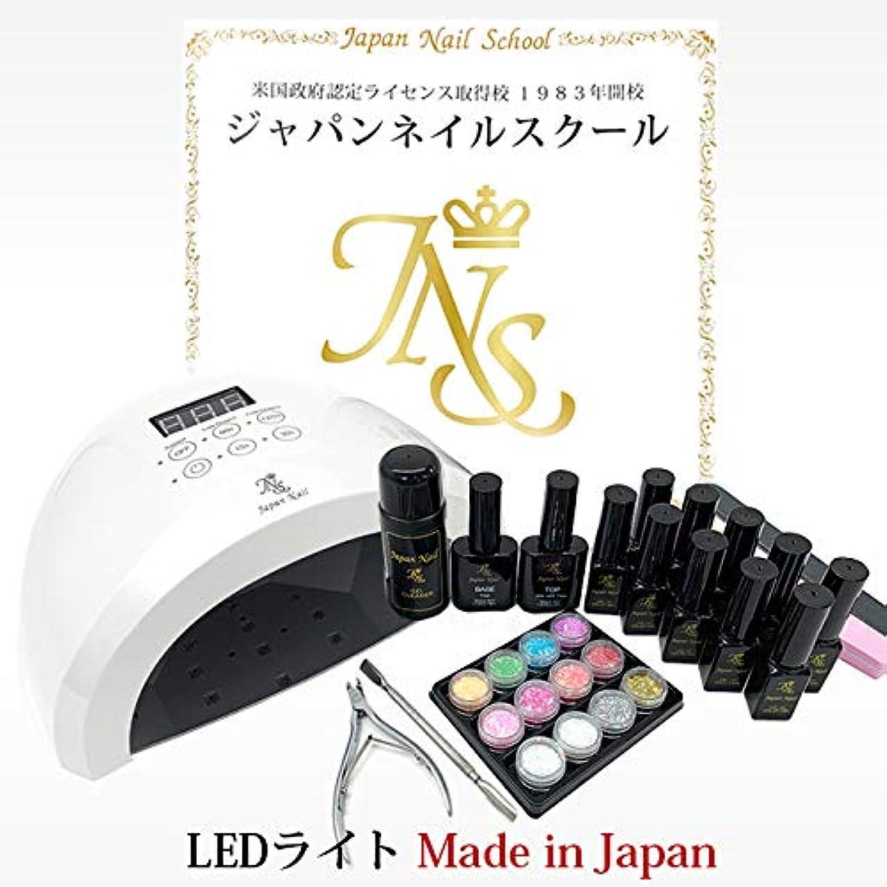 縁石でも寓話弱爪?傷爪でも熱くない2つのローダウン機能搭載ジェルネイルキット最新型日本製LEDライトn7初心者も安心の5年間サポート付
