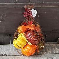 秋デコレーションキット人工盛り合わせ小さなカボチャメープルパインコーン秋の収穫の装飾品ハロウィーン秋の感謝祭庭家の装飾