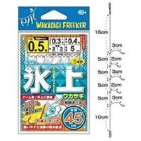 ハリミツ WAKASAGi FREEKER W-3A 氷上ワカサギ (秋田キツネ) 1号-0.4