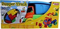 Dede Large Dumper Truck with Construction Blocks (30 Pieces) by Ed-co