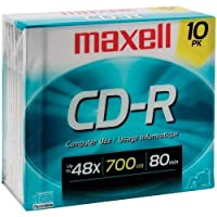 Maxell 622860 /648210 80-minute/700 MB CD - R (622860 /648210 ) -