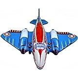 [ロイヤリティルート]RoyaltyRoute Blue Red Luxury Wind Up Tin Toys Collectibles Friction Jet by tin_toys_collectable_jet_001 [並行輸入品]