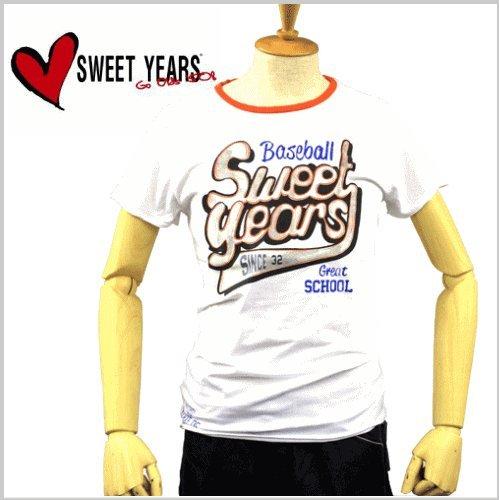 メンズ TシャツSYU726 ホワイト スウィート イヤーズ