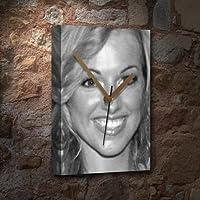 SARAH MANNERS - キャンバス時計(LARGE A3 - アーティストによる署名入り) #js005