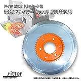 Ritter社 電動スライサーicaro7専用の替え刃です。 ドイツ Ritter リッター社 電動スライサー icaro7用 替え刃 [簡易パッケージ品]