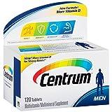 海外直送品Centrum Men Under 50 Multivitamin/Multimineral Tablets, 120 Tabs by Centrum