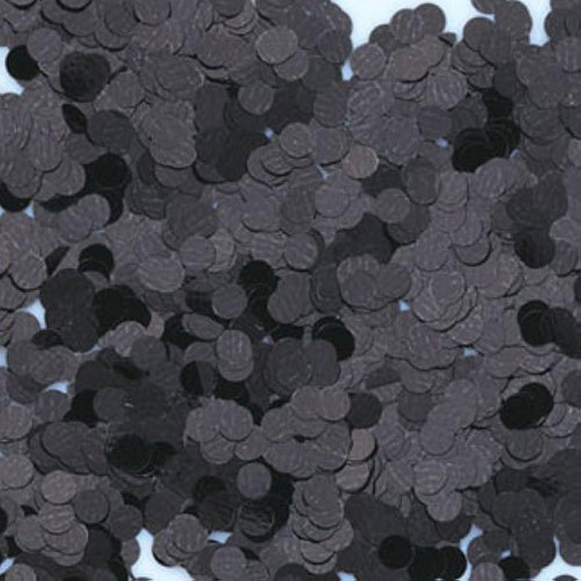 ヘロイン落とし穴離すピカエース ネイル用パウダー 丸カラー 1.5mm #412 ブラック 0.5g