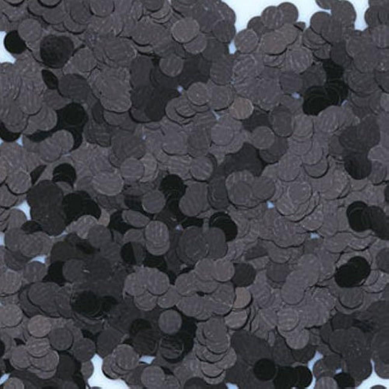 ラフレシアアルノルディゲーム屈辱するピカエース ネイル用パウダー 丸カラー 1.5mm #412 ブラック 0.5g