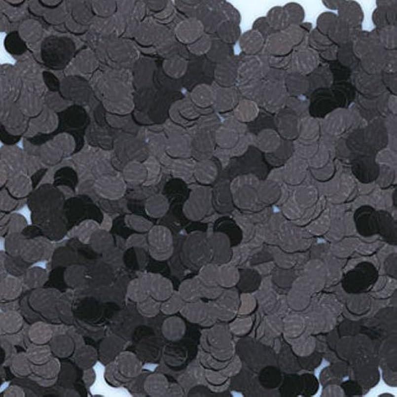 新しい意味フロンティア社会主義ピカエース ネイル用パウダー 丸カラー 1.5mm #412 ブラック 0.5g