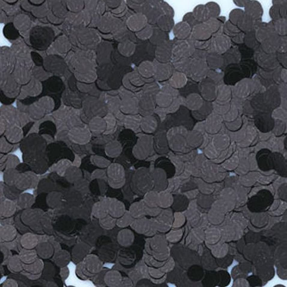 核みすぼらしいメタルラインピカエース ネイル用パウダー 丸カラー 1.5mm #412 ブラック 0.5g