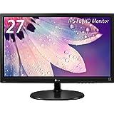 LG 27MP38VQ-B ディスプレイ モニター 27インチ/AH-IPS非光沢/フルHD/HDMI