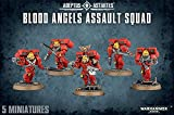 [ウォー ハンマー]Warhammer 40k Blood Angels Assault Squad 41-18 [並行輸入品]