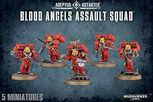 [ウォー ハンマー]Warhammer 40k Blood Angels Assault Squad 41-18 [並行輸入品]