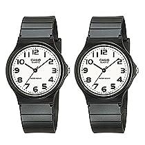 [カシオ]CASIO 腕時計 メーカー1年間保証付き 専用ペアBOX カシオ 時計 チープカシオ ペアウォッチ MQ-24-7B2LLJFMQ-24-7B2LLJF レディース メンズ【ペアBOXプレゼント中】 [並行輸入品]