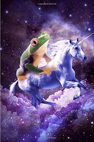 Frog Riding Unicorn Daily Weekly Planner